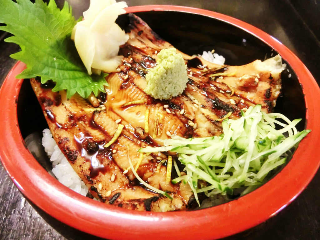 Anago Don (Conger eel sushi rice bowl)